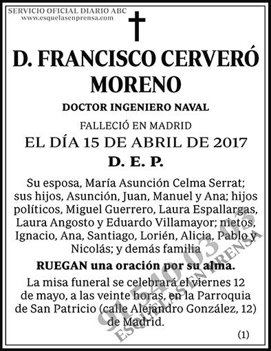 Francisco Cerveró Moreno